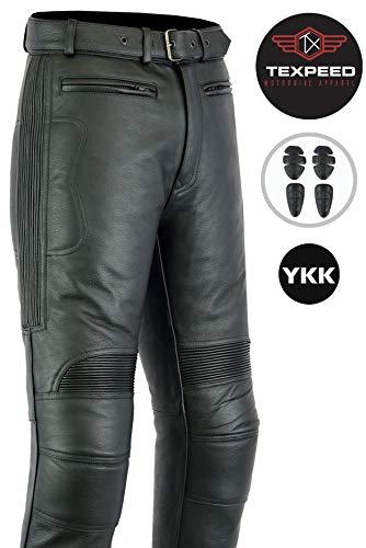 Texpeed - Herren - Motorradhose für Touring - Leder - Alle Größen