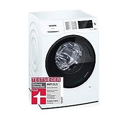 Siemens iQ500 WD14U540 Wasmachine / 9,00 kg / 6,00 kg / A / 198 kWh / 1.400 tpm / Quick Wash Program / Hygiene Program / Outdoor/Impregnation*
