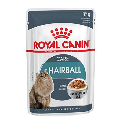 Royal canin - 85gr gato cuidado de bolas de pelo - comida mojado diet??tica gatos