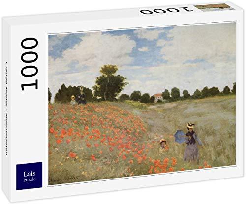 Lais Puzzle Claude Monet - Papaveri 1000 Pezzi