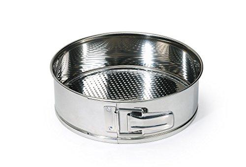 Fabricado en acero inoxidable. Resistente a altas temperaturas +230ºC. Ideal para gratinar, cocinar y hornear sus alimentos. De fácil limpieza. Higiénico e imperturbable a los agentes externos, no se oxida y se mantiene inalterable en el tiempo.