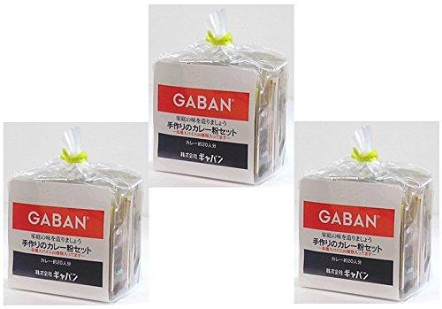GABAN 手作りカレー粉セット  100g×3袋