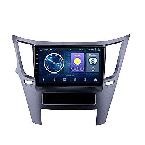 Radio TV Android 8.1 con GPS, pantalla táctil de 9 pulgadas, para Subaru Legacy Outback 2009 – 2014, con control en el volante, Bluetooth, USB, estéreo, 4 G + WiFi: 2 + 32 G