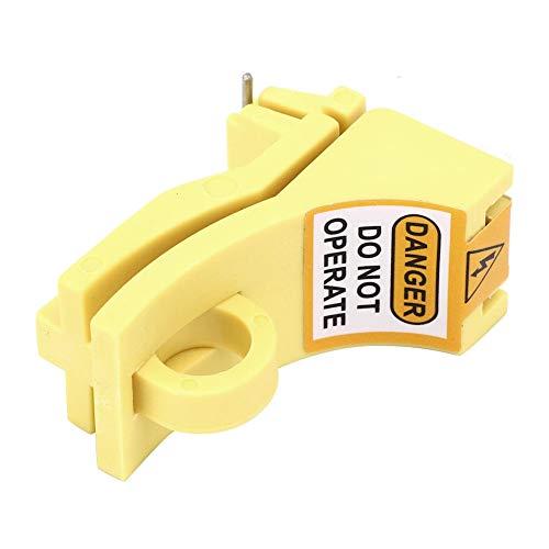 Bloqueo de seguridad MCB, duradero y robusto Bloqueo de disyuntor en miniatura Conveniente para componente electrónico para bloqueo de disyuntor para fábrica para uso general