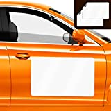 QSUM 2PCS Blank Magnetic Signs for Car - Rounded Corners Blank Car Magnet Set –Magnetic Sign for Vehicles, Business Signs for Car Doors,Magnetic Sheets to Cover Company Logo.(44x30cm)