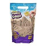 Kinetic Sand 907 g Beutel mit magischem Indoor-Spielsand naturbraun, Color marrón (Spin Master 20116297)