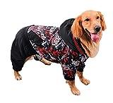 TFWJ Ropa para Perros Abrigo Otoño Invierno Caliente Mascota Ropa de Algodón para Samoyedo Medio Grande Perros,7XL