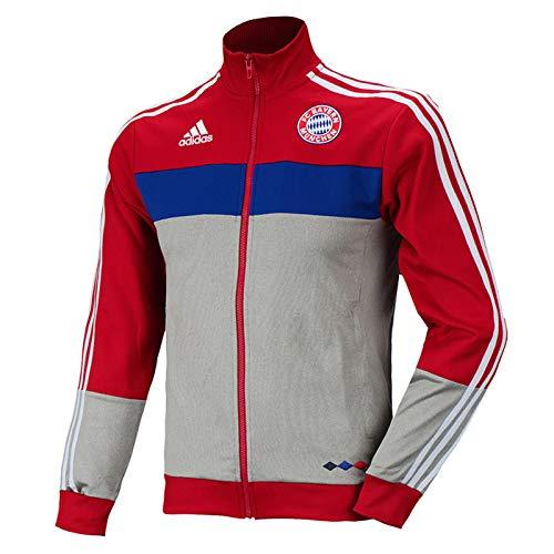 adidas Rare Performance FCB TT Bayern München Track Top Sportjacke Jacke AJ1255, Größe:XL, Farbe:Rot