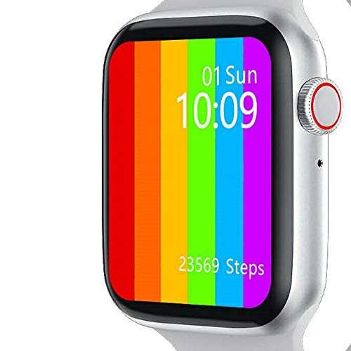 Baldwin Innovation & Designs LLC. Affordable Smart Watch & Fitness Tracker for iPhone & Android: 44mm Touch Screen, Fitness Tracker, Waterproof, Message & Notifications View, Music Control