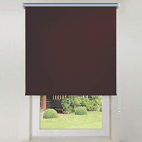 Hengda Thermo Sonnenschutz für Dachfenster,Hitzeschutz für Innen,ohne Bohren ohne kleben,fensterrollo ohne bohren für 90 x 200cm