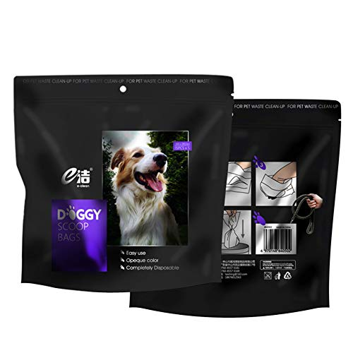 60 bolsas Caca emoji Perro Para Mascota Perro Gato residuos Pooper Scooper Inodoro Poo Corbata sin de Mango