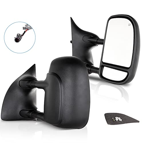 ECCPP Towing Mirrors Replacement fit for 99-07 for Ford for F250 for F350 for...