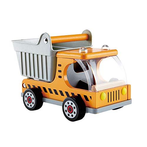 Hape E3013 – Kipplaster, Baustellen-Fahrzeug für Kinder, ab 3 Jahren