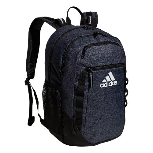 adidas Sac à dos Excel unisexe pour adulte, Mixte, 104638, Jersey Black/Black/White, Taille unique