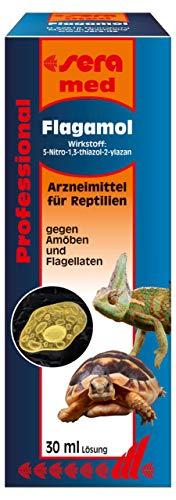 sera med Professional Flagamol 30 ml - Arzneimittel für Reptilien gegen Amöben und Flagellaten