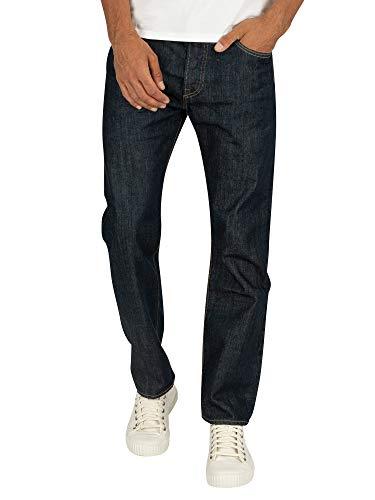Levi's Jean 501 Original Normal Fit Marlon Bleu foncé