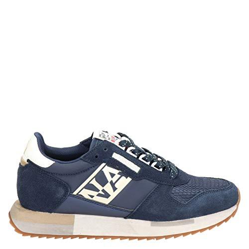 Napapijri - Zapatillas de mujer Vicky azul NP0A4ET51761 Azul Size: 38 EU