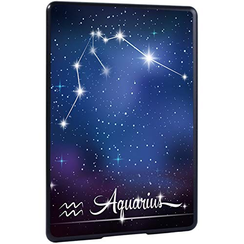 BYLLZZ Funda para Kindle For Funda para Tablet Hard Shell para Amazon Kindle 10Th Gen 2019/8Th Gen 2016 Y Paperwhite 1 5Th Gen/2 6Th Gen/3 7Th Gen/4 10Th Gen, Star Sign, Aquarius,Paperwhite 3 7Th Gen