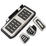 GXZYY 4 unids/Set Cubiertas de Almohadilla de reposapiés de Pedal de Acelerador de Freno de Embrague de Coche, para VW/Golf 7 GTI MK7 / Skoda/Octavia A7 / Audi A3 8V / Passat