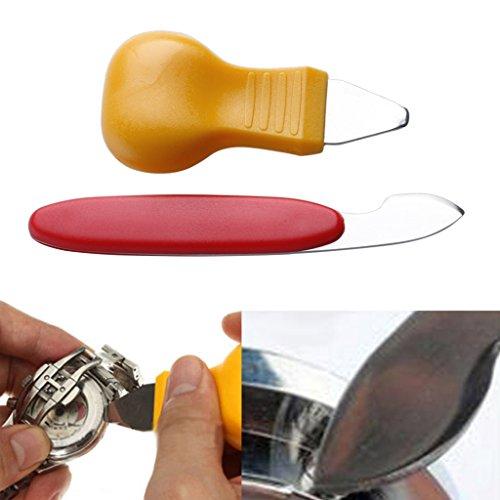 WT-YOGUET Uhrenrückseite Akkudeckel Gehäuseöffner Entferner Wechseln Uhrmacher Reparaturwerkzeug Kit