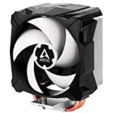ARCTIC Freezer i13 X - Compact Intel CPU Cooler, 100 mm, 300-2000 RPM (Controlled by PWM), Fluid Dynamic Bearing, Pre-Applied MX-2 Thermal Paste - Black (ACFRE00078A-FBA-DE)