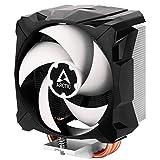 ARCTIC Freezer i13 X - Kompakter Intel-CPU Kühler, 100 mm, 300-2000 RPM (PWM gesteuert), Hydrodynamische Gleitlager, voraufgetragene MX-2 Wärmeleitpaste - Schwarz
