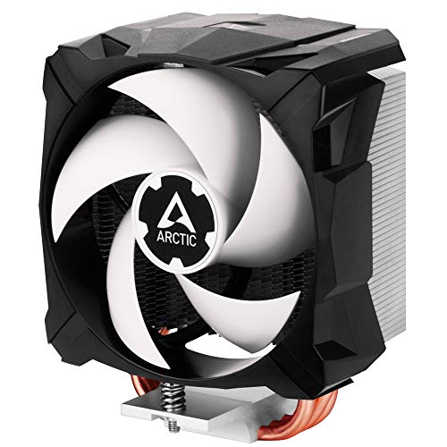 Arctic Freezer i13 X - Disipador de CPU, Refrigerador Compacto para CPU, Intel, 100 mm, 300-2000 RPM (Controlado por PWM), Rodamiento Dinámico Fluido, Pasta MX-2 pre-aplicada - Negro