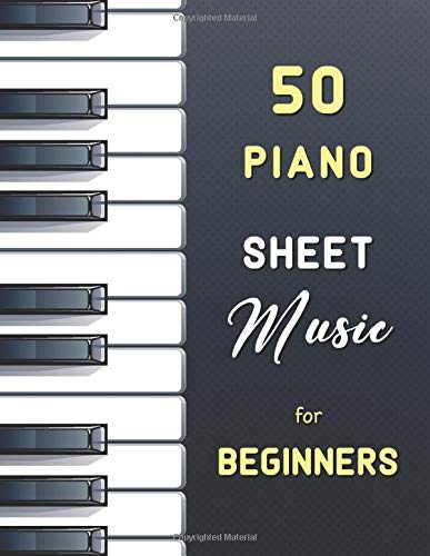50 Piano Sheet Music for Beginners: Easy Classical Pieces (Urtext with fingering) from Bach, Satie, Schumann, Mozart, Bartók