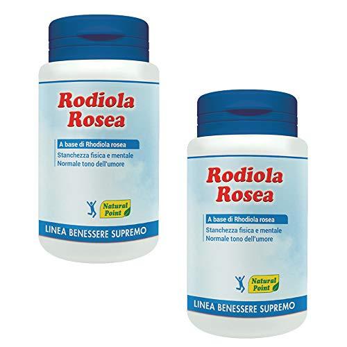 RHODIOLA ROSEA 50 Capsule - Natural Point (2 Confezioni da 50 Capsule)