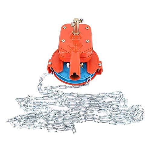 Fancylande handmatige foliespoelmachines voor rolluiken voor het oprollen van folies op de bovenkant van de broeikas beste service