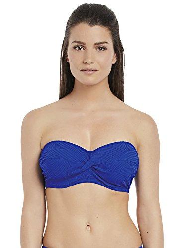 Fantasie Ottawa Bandeau Bikini Top 6354 Pacific Pacific Blauw 36FF