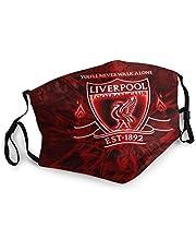 Liverpool mask skyddande ansiktsskydd balaklava återanvändbar dammtät munmask utomhus ansiktsskydd bandana halsduk halsdukar