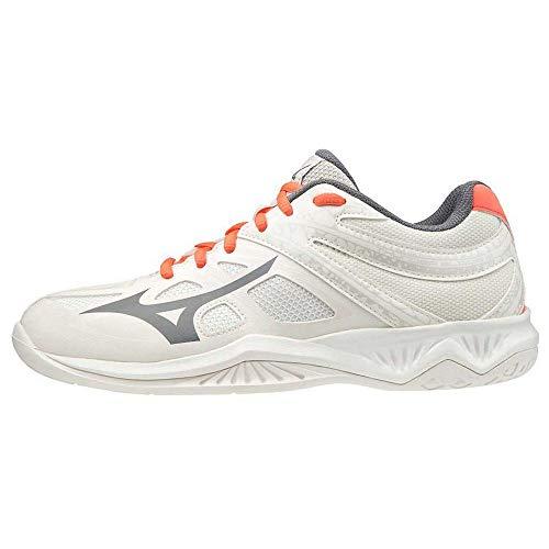 Mizuno Damen Thunder Blade 2 Volleyball-Schuh, Weiß, 40.5 EU