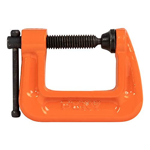 Pony Jorgensen 2610 1-Inch C-Clamp, Orange