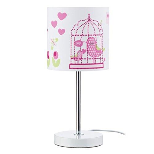 Kids Concept 300046 Tischlampe Vogel rosa