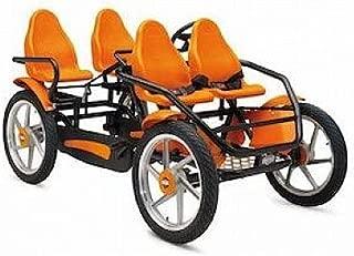 Berg 29.07.40.00 Go-Kart Gran Tour 4-Seater Racer44; Orange