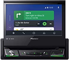 Pioneer AVH-Z7250BT In-Dash 1-DIN DVD Multimedia AV Receiver with 7″ Touchscreen Display, Apple CarPlay, Android Auto,...