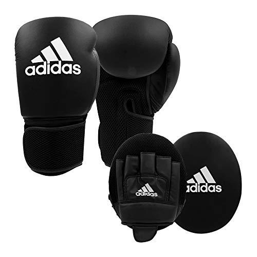 adidas Kit de entrenamiento de boxeo en casa – par de guantes y guantes 2 piezas para adultos y niños