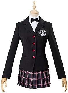 maolaoshicos ペルソナ5 コスプレ 芳澤 かすみ(よしざわ かすみ) コスプレ 衣装 P5 コスプレ 制服 コスチューム cosplay (女, M)