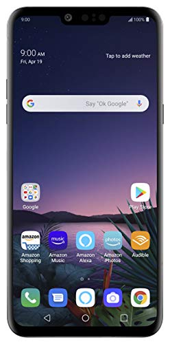 LG G8 ThinQ with Alexa Hands-Free – Unlocked SMARTPHONE – 128 GB – Aurora Black (US Warranty) – Verizon, AT&T, T–Mobile, Sprint, Boost, Cricket, & Metro