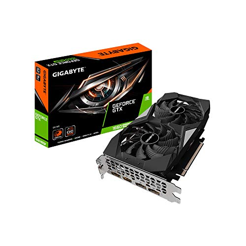 Gigabyte GeForce GTX 1660 SUPER OC 6G 6GB GDDR6 Scheda Grafica- 3x DisplayPort/HDMI