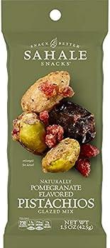 9-Pack Sahale Snacks Pomegranate Flavored Pistachios Glazed Mix