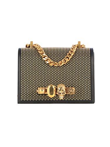 Alexander McQueen Luxury Fashion Donna 5585411B11T1000 Nero Borsa A Spalla | Autunno Inverno 19