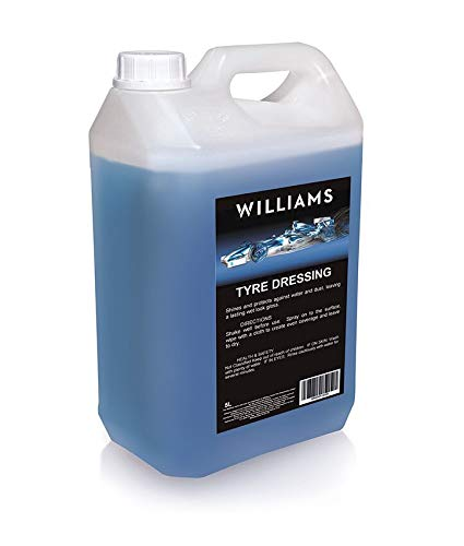 Williams Racing 5 Litre Tyre Dressing Premium Grade Gloss Finish