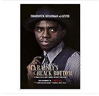 Ma Rainey'S Black Bottom Movie Poster Print Wall Art Picture Prints Canvas Home Decor Artwork -50X70Cm No Frame