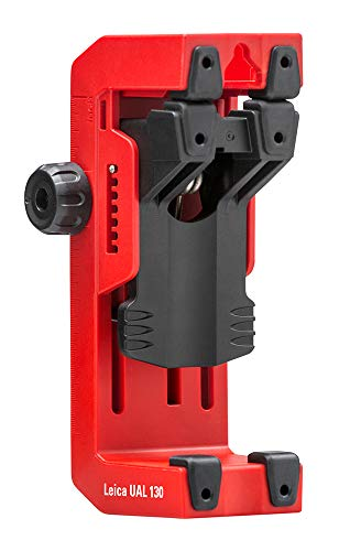 Leica Geosystems 866131 LINO UAL130 Line Laser Adjustable Wall Bracket with Quick Clamp