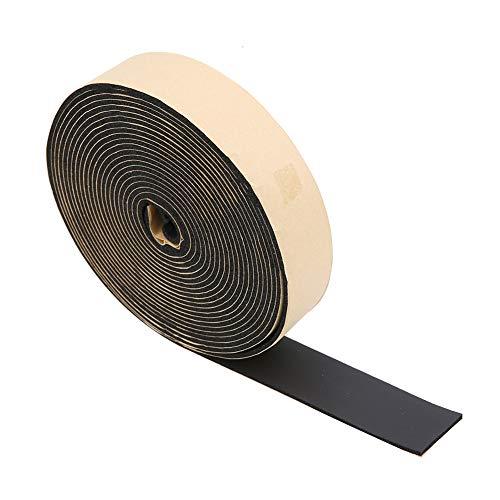 30Inch / 30Feet Neopren-Schaumstoffband, selbstklebendes Schaumstoff-Dichtungsband für Klimaanlagen, Schwammstreifenband, schalldichte Isolierung, Dichtungsstreifen, Bastelband