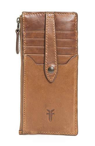 Frye Melissa Snap Card Wallet, Cognac
