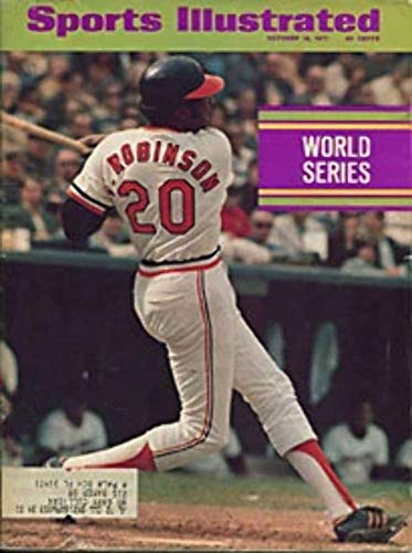 Sports Illustrated Magazine October 18, 1971 (Vol 35, No. 16): Frank Robinson, Baltimore Orioles