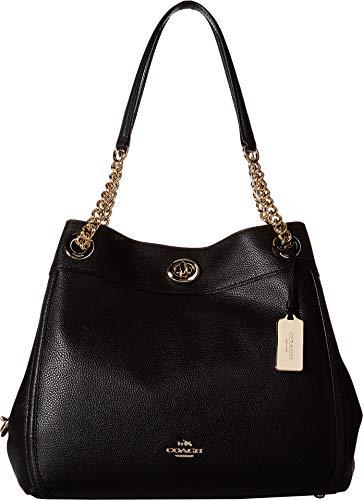 COACH Turnlock Edie Li/Black One Size